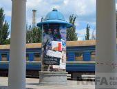 «Мосфильм» дарит Феодосии тумбу для объявлений