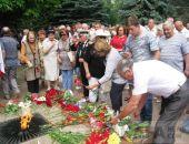 В Феодосии почтили память советских воинов (видео):фоторепортаж
