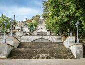 Путин попросил Аксёнова ускорить реставрацию Митридатской лестницы в Керчи