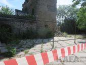 В Феодосии начались работы на башне Константина