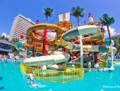 В Крыму в отеле «Ялта-Интурист» открылся аквапарк (фото)