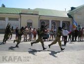 Феодосийцы впервые отметили День зеленой фуражки (видео)