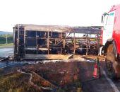 """В Татарстане ночью столкнулись рейсовый автобус и """"КамАЗ"""", погибли 13 пассажиров"""