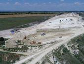 Из-за жары на строительстве автодороги Дубки – Левадки изменён график работы