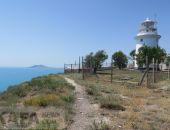 Прогулка к маяку на мысе Святого Ильи в Феодосии:фоторепортаж