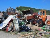 В Крыму на плато Ай-Петри завершен снос торговых ларьков и кафе