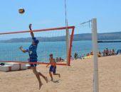 В Феодосии прошли соревнования по пляжному волейболу среди сотрудников МЧС