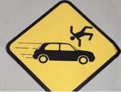 В Феодосии вчера два человека были сбиты на пешеходных переходах