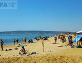 Пляжные моменты: Береговое :фоторепортаж