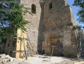 В Феодосии на башне Константина работы идут полным ходом (видео)