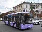 В Севастополе глава Минтранса РФ и врио губернатора вывели на маршруты 37 новых троллейбусов