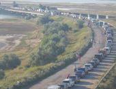 ФСБ заявила о километровых пробках на границе Крыма и Украины