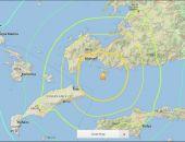В районе Турции и Греции произошло мощное землетрясение