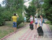 В Феодосии массово проходит уборка территории