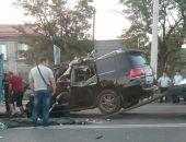 Сегодня ночью в Симферополе Лексус врезался в КамАЗ, водитель погиб