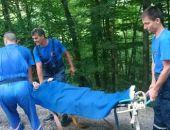Спасатели вчера эвакуировали с Ангарского перевала ростовчанина с парализованной ногой