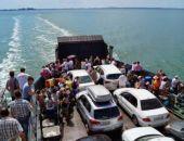 За неделю Керченская переправа перевезла на 7,8% пассажиров меньше, чем год назад
