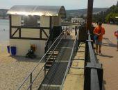 Торговые объекты на пляжах Феодосии  вызвали сомнения