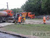 Улицы села Насыпное осчастливили новым асфальтом