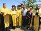 В Феодосии заложен камень часовни Федора Ушакова (видео):фоторепортаж