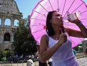 В Италии рекордная жара, начались отключения воды, в Риме выключили фонтаны