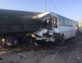 Автобус из Крыма с детьми разбился под Темрюком