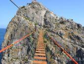 В Симеизе появился 100-метровый подвесной мост