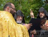 Состоялось освящение обновленной могилы Айвазовского (видео)