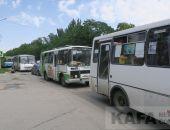 Дорожные заторы в центре Феодосии из-за визита главы Крыма