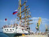 Феодосийцы и гости города посетили парусник «Херсонес» (видео)