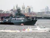На морском параде в Петербурге показали новейшую боевую технику