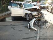 Под Феодосией произошло ДТП с машинами и автобусом:фоторепортаж