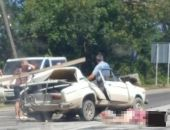 В Крыму на трассе Симферополь – Севастополь в жутком ДТП погибли два человека (дополнено) (фото)
