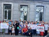 В Симферополе прошло молитвенное стояние против фильма «Матильда»