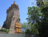 Первый этап работ на Башне Константина завешен в срок