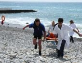 В Коктебеле едва не утонул мужчина, его вовремя достали из воды и реанимировали (фото)