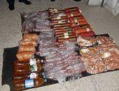 Украинец пытался провезти в Крым полцентнера колбасы в двойном дне автомобиля (фото)