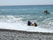 В Крыму унесённых в море двух девушек спасли с помощью «конца Александрова»