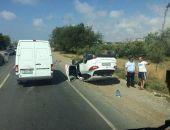 В Крыму на трассе Евпатория – Симферополь в ДТП столкнулись легковушка и внедорожник (фото)