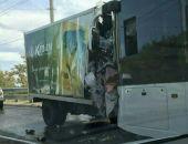Сегодня утром в Крыму ГАЗель «лоб-в-лоб» протаранила троллейбус с пассажирами (фото)