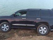 В Крыму под Белогорском в водохранилище снова съехал автомобиль (фото)