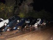 Вчера вечером на дороге Судак-Грушевка сошел селевой поток, пострадали автомобили