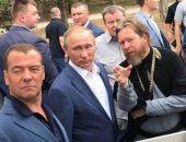 Путин и Медведев обсудили с учеными состояние объектов культуры в Крыму