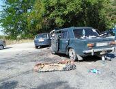 В пригороде столицы Крыма сегодня в ДТП столкнулись два легковых авто, один человек погиб