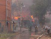 В Ростове-на-Дону крупный пожар, шесть кварталов отключены от газа и электричества