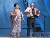 В Феодосии прошел концерт ко Дню флага России