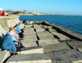 В Евпатории на аварийной части набережной Терешковой едва не утонул 75-летний крымчанин