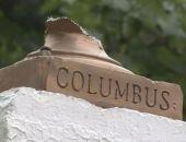 В Нью-Йорке разрушили памятник Колумбу