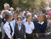 Первое сентября в феодосийской школе №2 (видео)