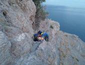 В Крыму туристка из Ростова сорвалась со скалы в Судаке (фото)